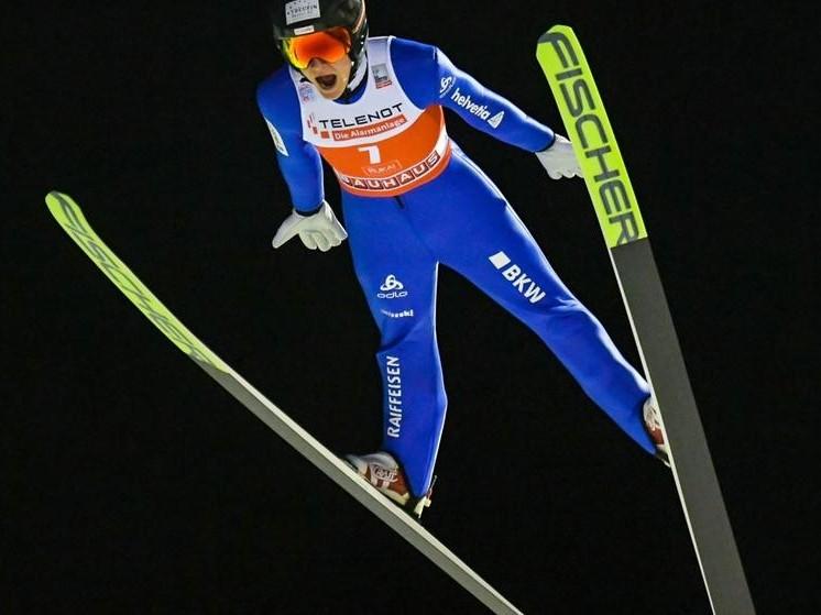 Skispringen: Dominik Peter holt die ersten Weltcup-Punkte