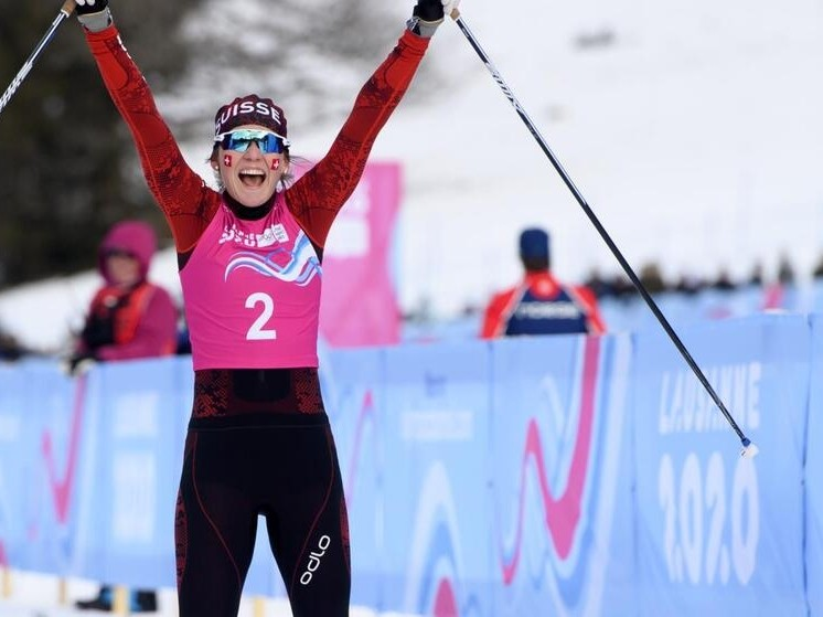 YOG 2020 Langlauf: ehemalige KuSsZO-Schülerin Siri Wigger erkämpft sich die 3. Olympiamedaille!