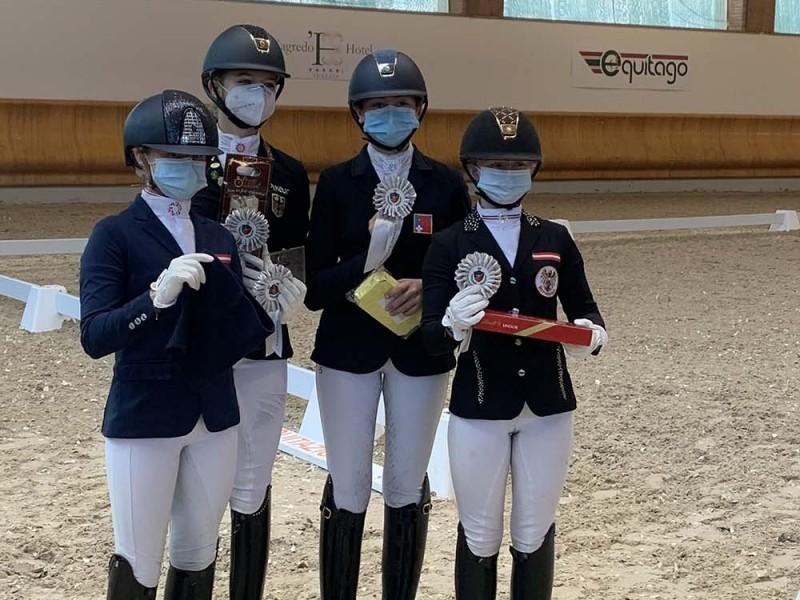 Pony Dressur: Gute Leistungen von Robynne Graf am CDI3* in Ornago (ITA)