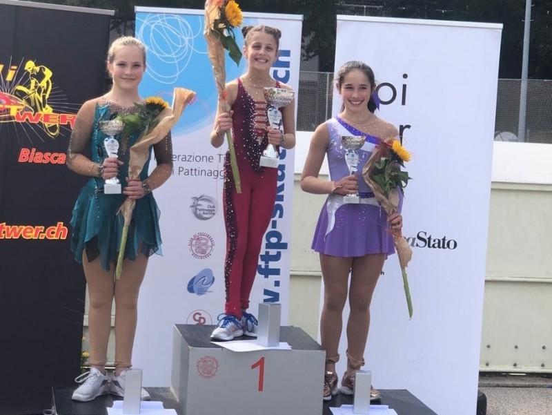 Eiskunstlauf: Stella Frei landet am Swiss-Cup auf dem Podest!