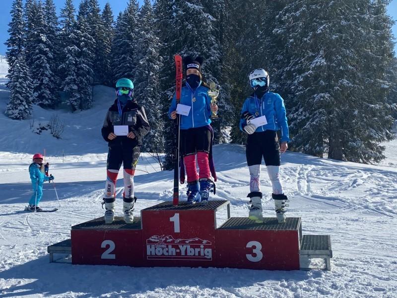 Ski Alpin: Allegra ist erneut ZSV-Meisterin im Riesenslalom!