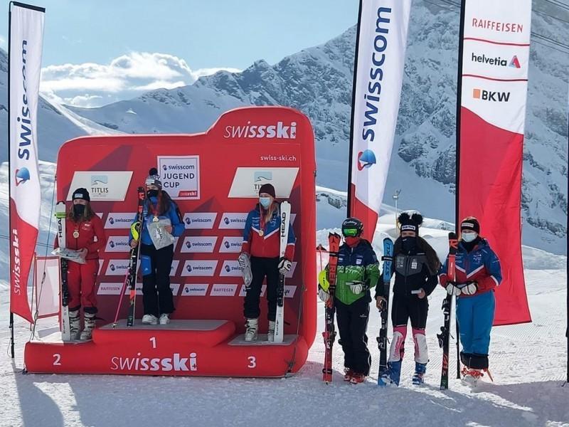 Ski Alpin: Allegra 5. an der Schweizermeisterschaft!