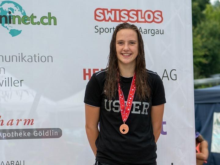 Schwimmen: Chiara gewinnt zweimal Bronze an NWSM!