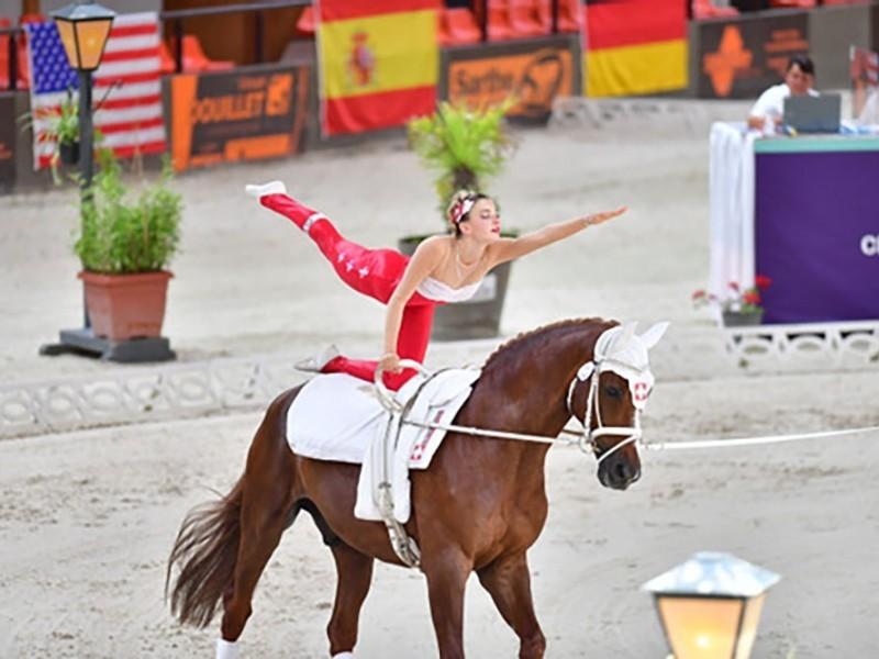Voltige: Leonie Linsbichler wird 5. an der WM!
