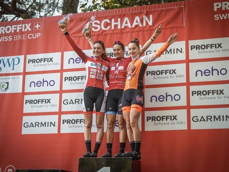 Mountain Bike: Muriel wird 3. am Proffix Swiss Bike Cup in Schaan