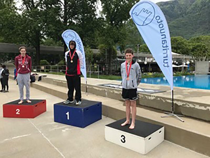 Schwimmen: Severin gewinnt die Bronzemedaille an der Schweizermeisterschaft!