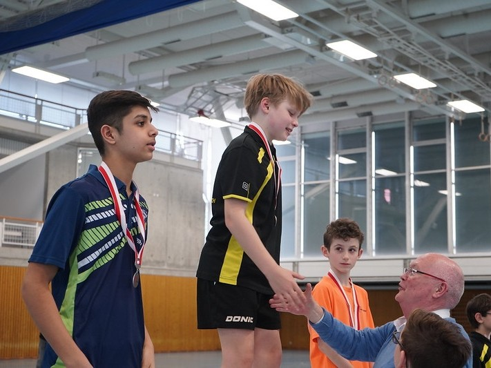 Tischtennis: Sieg für Noe Keusch am Top 8-Turnier