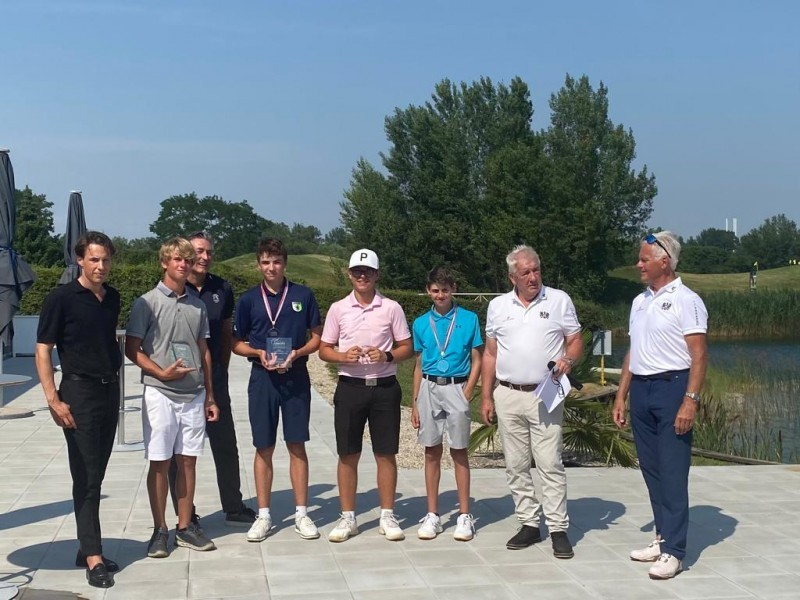 Golf: Ben holt sich eine Silbermedaille an internationalem Turnier in Österreich!