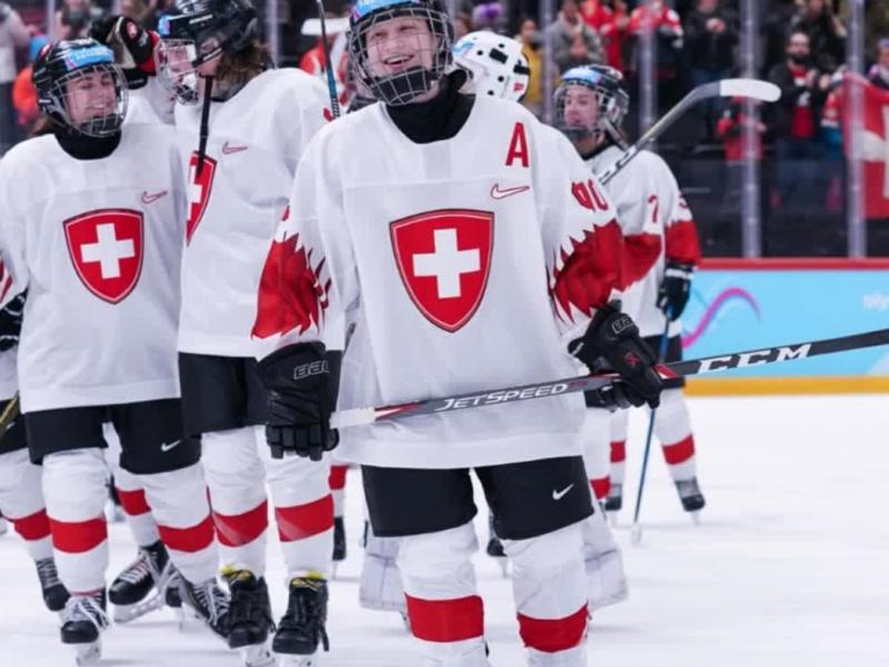 YOG 2020 Eishockey: Jana Peter erreicht mit ihrer Mannschaft den 4. Platz