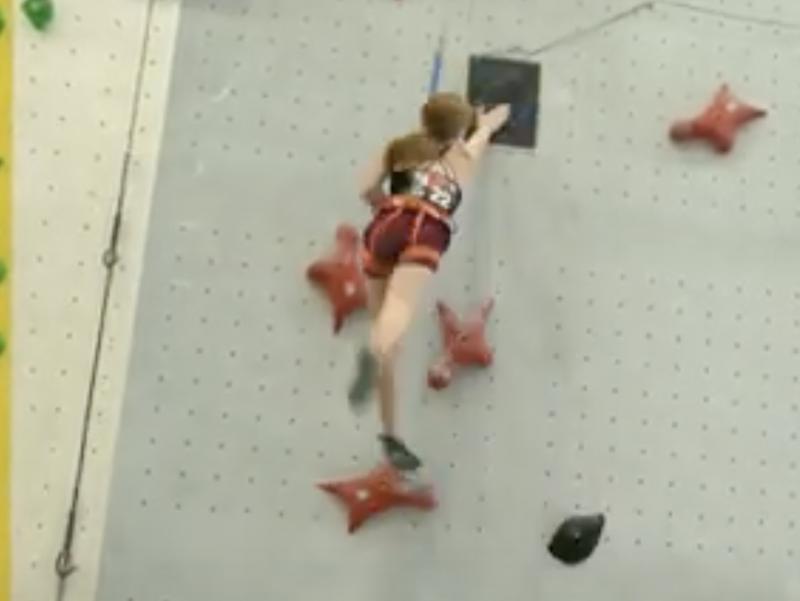 Klettern: Anaïs Heim gewinnt die Silbermedaille an der Schweizermeisterschaft!