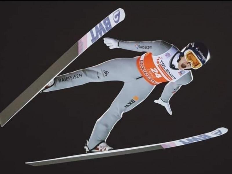 Skispringen: Dominik Peter punktet im Weltcup gleich doppelt!