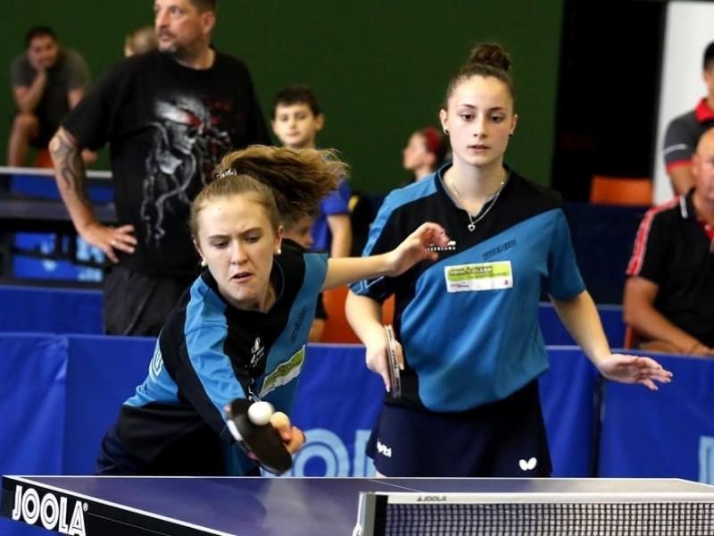Tischtennis: Lia gewinnt das Doppel am Czech Open U15!