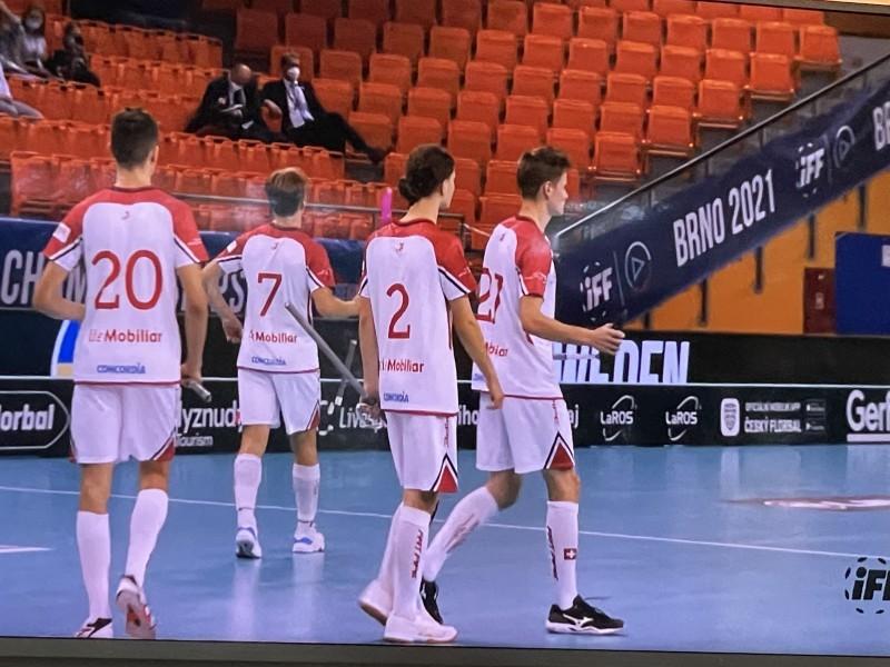 Unihockey: U19 Nationalmannschaft wird 4. an der WM in Brno!