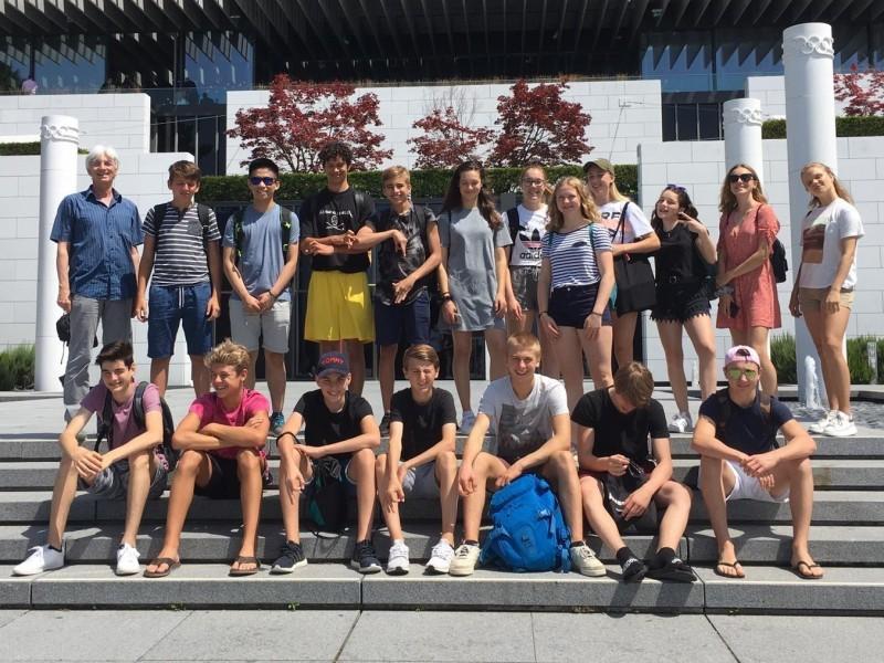 3. Sek besucht das Olympische Museum