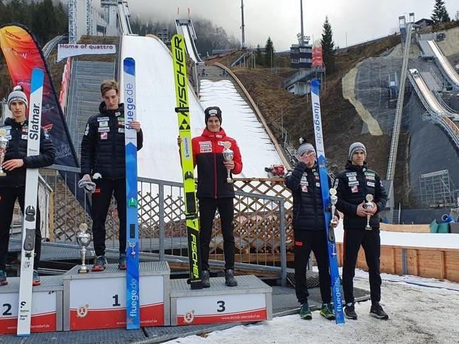 Skispringen: Podestplätze für Dominik Peter im Alpencup