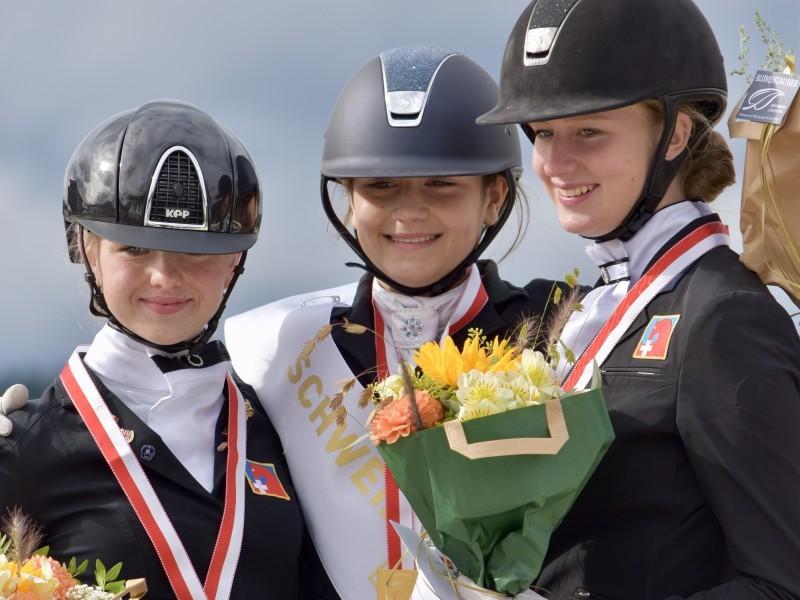Dressurreiten: Robynne Graf ist Schweizermeisterin 2020!