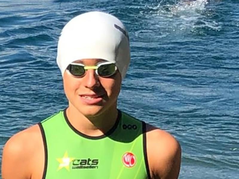 Triathlon: Aris gewinnt im Team die Silbermedaille an der Schweizermeisterschaft!