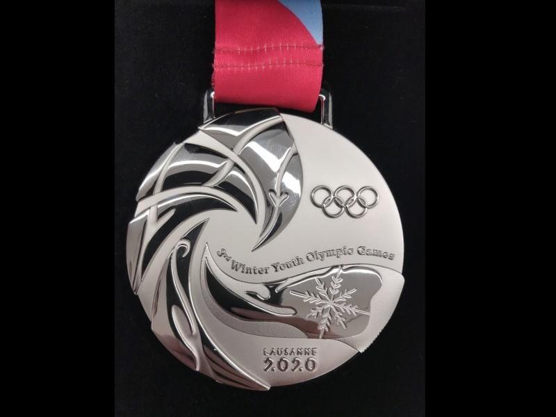 YOG 2020 Eishockey: Olympische Medaille an der KuSsZO angekommen!