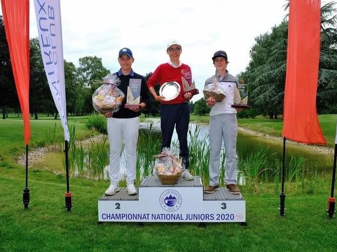 Golf: Yves Koller wird U14 Schweizer Meister!