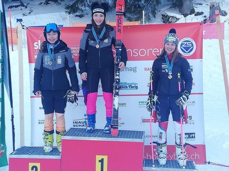 Ski Alpin: Allegra Frei ist ZSV Speed Meisterin der Mädchen U16 und ZSV Meisterin im Riesenslalom U16