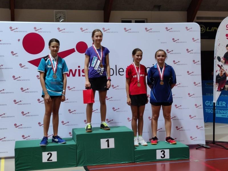 Tischtennis: Amira erfolgreich an den Schweizer Meisterschaften