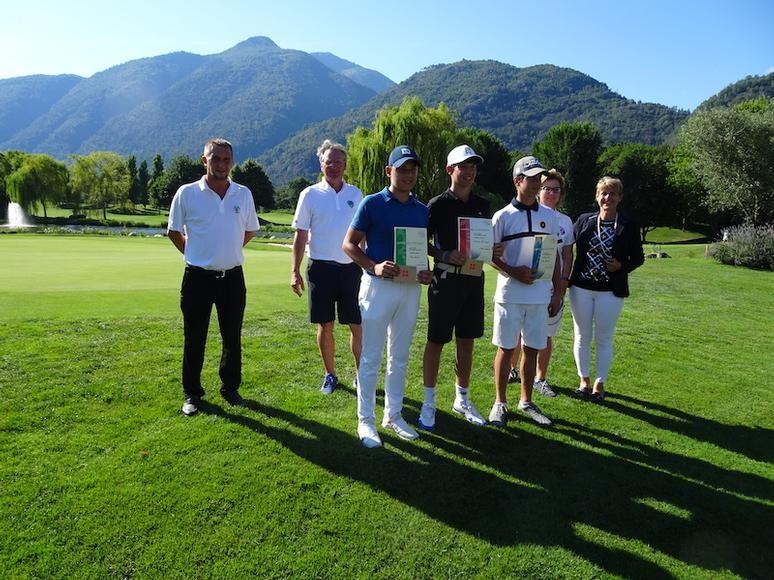 Golf: Ben Steinmann gewinnt in Losone die Silbermedaille