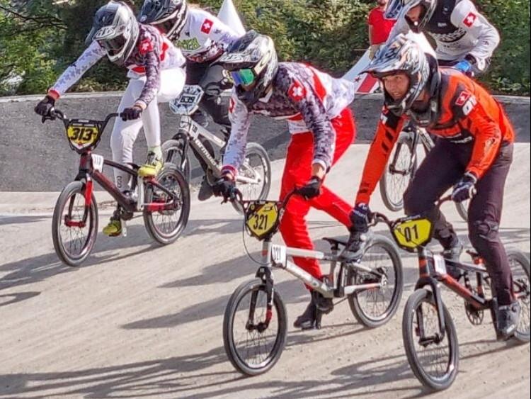 BMX: Nico wird Schweizermeister in der Kategorie Boys 15!
