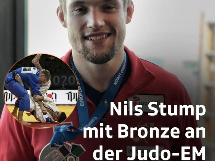 Judo: Nils Stump gewinnt EM-Bronze!