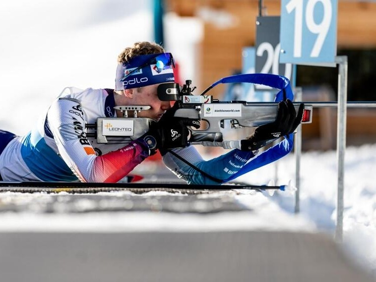 Biathlon: WM-Bronce für Sebastian Stalder